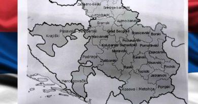 Dodik nacrtao MAPU nove DRŽAVE na Balkanu koju čine RS, Srbija i dio Crne Gore