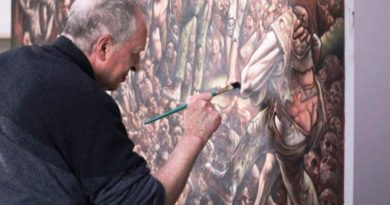 Škotski umjetnik Peter Howson novom slikom obilježava 25. godišnjicu genocida u Srebrenici