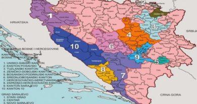 Da li je još u Daytonu čak i Federacija podijeljena na Bosnu i na Hercegovinu?