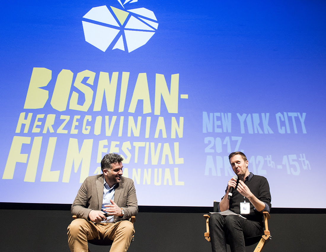 2017 - April 15th - School of Visual Arts Theatre - Q&A with Danis Tanović & Amir Husak