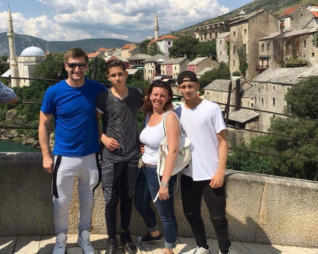 Familija Pavlović u Mostaru